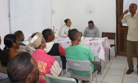 PRADET-PAMM hold family and client education activities at Eraulo, District Ermera